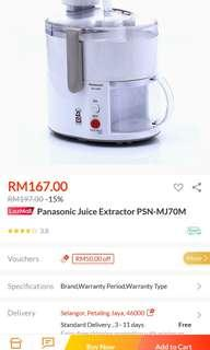 Panasonic juicer MJ-70