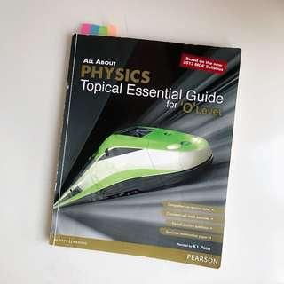 Physics O Level Topical Essential Guide
