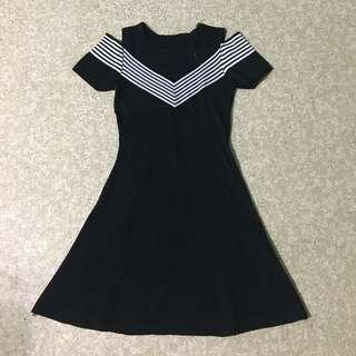 Black Dress (cold shoulder design)