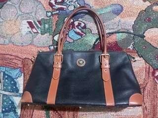 Vintage Dooney &Bourke Leather Bag/101%Authentic