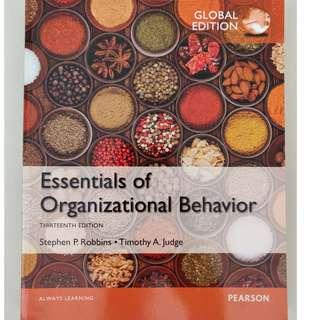 Essentials of Organisational Behaviour 13th Edition