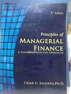 Principles of Managerial Finance: A Financial Analysis Approach (Reduced Price)