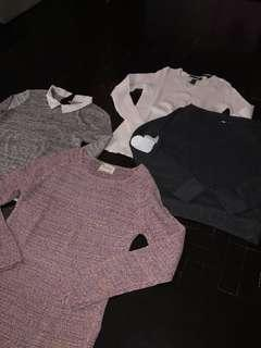 BRANDED SWEATERS