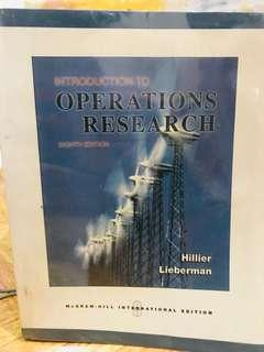 Intro to Operations Research 8th edition