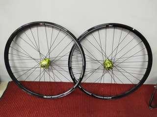 Piston Racing 700c Disc Wheel
