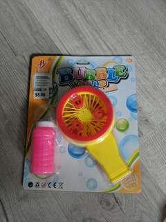 Toy Bubble Blower