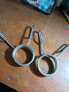 Collars for barbells (diameter standars 2 inches)
