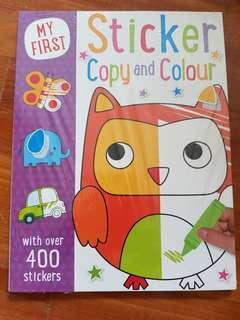 M y first sticker book