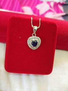 *REDUCE* Blue Stone Pendant Silver 925 (Pendant Only)