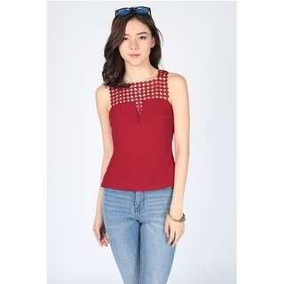 LB Naenie Lace Shoulder Top