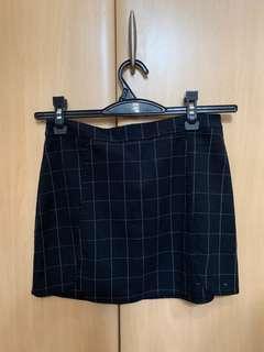 Brandy Melville Grid Skirt