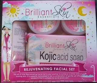 Brilliant  Skin Essentials Rejuvenating facial set