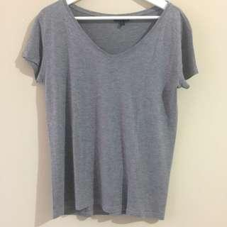 TOPSHOP V-Neck T-Shirt
