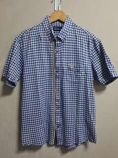 Fred Perry japan short sleeve button shirt
