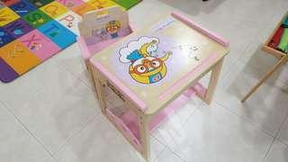 Pororo Table Chair Set for Kids