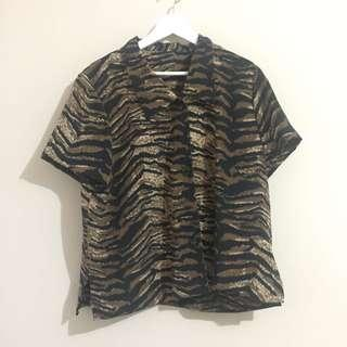 Tiger Pattern Shirt