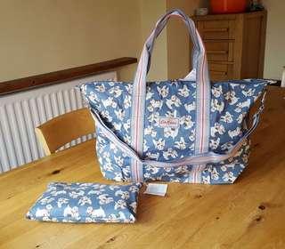 Catch Kidston Foldaway Overnight Bag