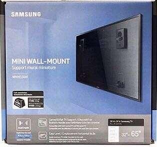 Samsung Mini Wall mount supports 32-65 inches