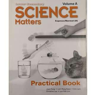 🚚 Science Matters Volume A, Lower Secondary Express/ Normal A