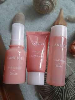 Laneige Fresh Calming Trial Kit