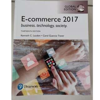 E-Commerce 2017 13th Edition