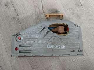 Jurassic World Matchbox Set (with Pop up T-rex and Jeep)