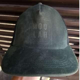 Penshoppe Suede Green Varsity Cap