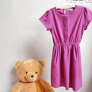 Dress Ungu Number 61