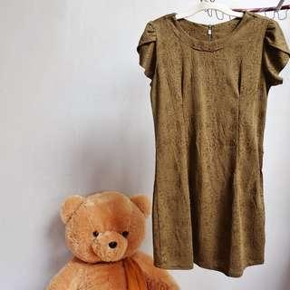 Dress Hijau Army Size L