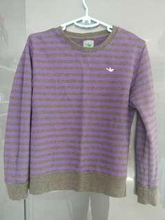 紫色橫間女裝衛衣