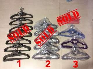 BNIP Magic Soft Felt Velvety Furry Anti-slip Non Slip Adjustable Hook Smart Clothes Hanger