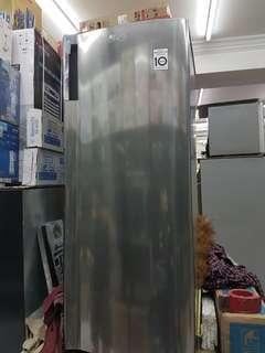 Kulkas Freezer LG GN INV-304 SL ASI bisa untuk es frozen food untuk ibu menyusui atau pedagang bisnis 6 RAK 99.9% MULUS MASIH GARANSI COD DEPOK ATAU PAKE GOBOX