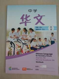 Secondary 4A Chinese workbook