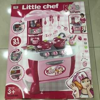 Kitchen Playset for kids - Little Chef Kids Kitchen