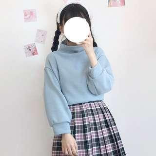 [ INSTOCKS ] baby blue pullover