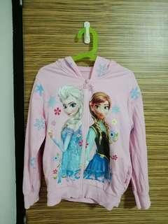 Girl's Jacket Frozen Elsa & Anna