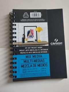 Canson Multimedia Notebook