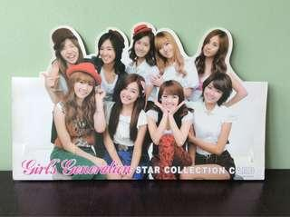 SNSD Girls Generation Card Collection Display
