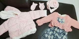 Winter clothing for baby