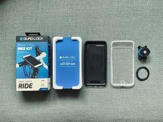 Quad lock iPhone 7+, 8+ case, Poncho & Bike Mount