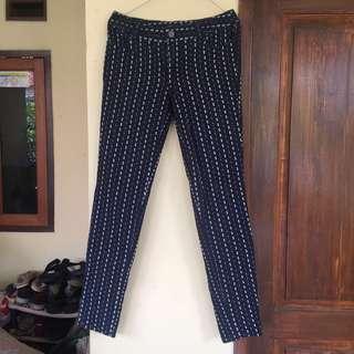 Hering Navy Motif Pants