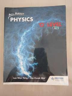 All about Physics O level