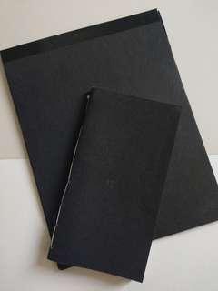 Calligrapad TN & Black Lined Pad