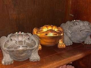 3-Legged Mystic Toad - Set of 3 pcs