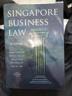 Singapore Business Law Textbook 8th Edition