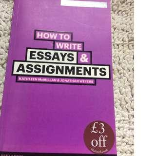 How to Write Essays and Assignments + Federal Constitution