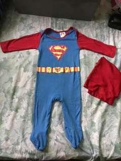 Mothercare Superman costume 9-12m