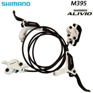 Shimano ALIVIO M395 Hydraulic Brake Set for Escooters / Bicycles
