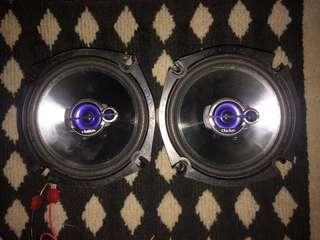 Car speaker door speaker pintu