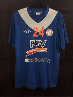 Felda United 2013 Away Jersey Original Umbro M Size Amar 24